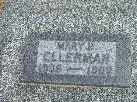 ELLERMAN, MARY D - Jefferson County, Kansas | MARY D ELLERMAN - Kansas Gravestone Photos
