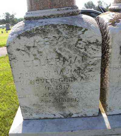 ELLERMAN, MARY E - Jefferson County, Kansas   MARY E ELLERMAN - Kansas Gravestone Photos