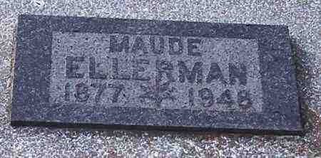 ELLERMAN, MAUDE - Jefferson County, Kansas | MAUDE ELLERMAN - Kansas Gravestone Photos
