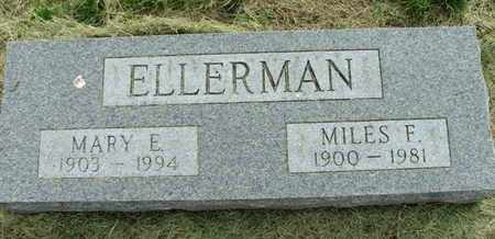ELLERMAN, MARY ELLEN - Jefferson County, Kansas | MARY ELLEN ELLERMAN - Kansas Gravestone Photos