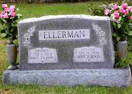 ELLERMAN, ORVILLE - Jefferson County, Kansas | ORVILLE ELLERMAN - Kansas Gravestone Photos