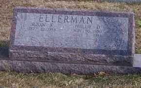 ELLERMAN, PHILLIP D - Jefferson County, Kansas | PHILLIP D ELLERMAN - Kansas Gravestone Photos