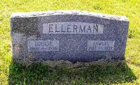 ELLERMAN, LOUISE - Jefferson County, Kansas | LOUISE ELLERMAN - Kansas Gravestone Photos