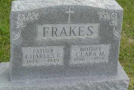FRAKES, CHARLES EDWARD - Jefferson County, Kansas | CHARLES EDWARD FRAKES - Kansas Gravestone Photos