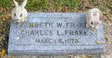 FRAKES, KENNETH W - Jefferson County, Kansas | KENNETH W FRAKES - Kansas Gravestone Photos