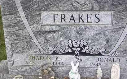 "FRAKES, SHARON KAY ""SHERRY"" - Jefferson County, Kansas   SHARON KAY ""SHERRY"" FRAKES - Kansas Gravestone Photos"