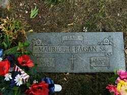 RAGAN  , MAURICE EDWARD, SR  (VETERAN WWII) - Jefferson County, Kansas | MAURICE EDWARD, SR  (VETERAN WWII) RAGAN   - Kansas Gravestone Photos