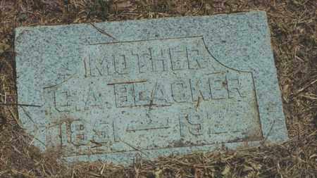 BLACKER, C A - Jewell County, Kansas | C A BLACKER - Kansas Gravestone Photos
