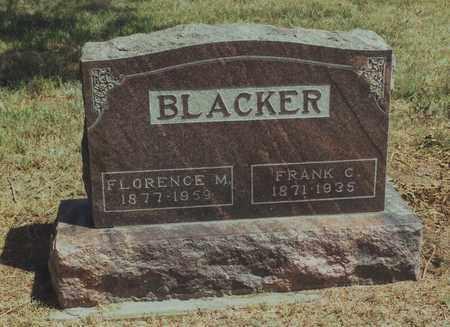 BLACKER, FRANK C. - Jewell County, Kansas | FRANK C. BLACKER - Kansas Gravestone Photos