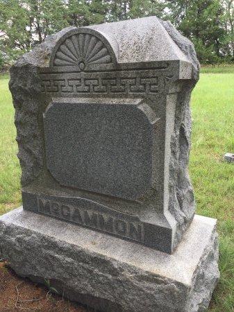 MCCAMMON, FAMILY STONE - Jewell County, Kansas   FAMILY STONE MCCAMMON - Kansas Gravestone Photos