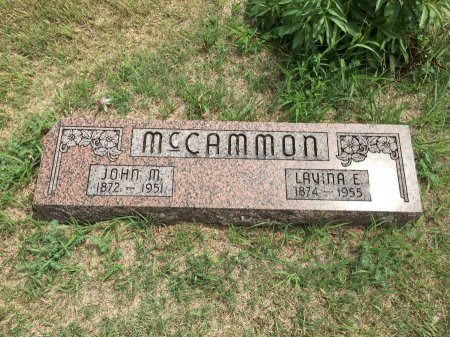 MCCAMMON, JOHN MAURICE - Jewell County, Kansas | JOHN MAURICE MCCAMMON - Kansas Gravestone Photos
