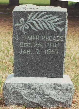"RHOADS, JOHN ELMER ""BUCK"" - Jewell County, Kansas   JOHN ELMER ""BUCK"" RHOADS - Kansas Gravestone Photos"