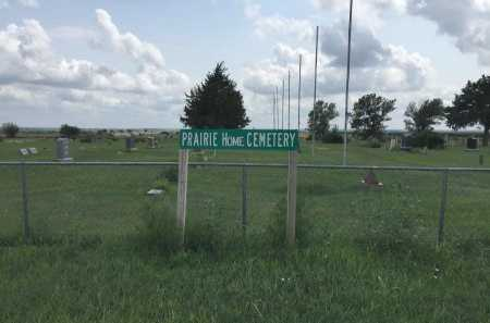 * SIGN & OVERVIEW, PRAIRIE HOME CEMETERY - Jewell County, Kansas | PRAIRIE HOME CEMETERY * SIGN & OVERVIEW - Kansas Gravestone Photos