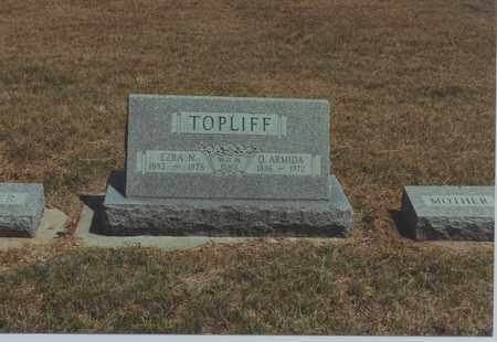 TOPLIFF, EZRA N. - Jewell County, Kansas | EZRA N. TOPLIFF - Kansas Gravestone Photos