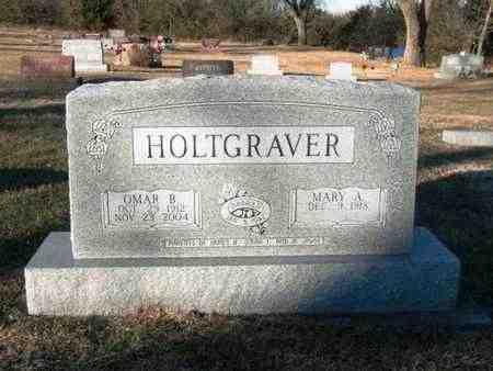 HOLTGRAVER, OMAR B - Johnson County, Kansas | OMAR B HOLTGRAVER - Kansas Gravestone Photos