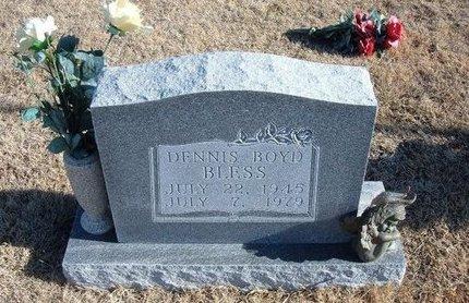 "BLESS, DENNIS BOYD ""DENNY"" - Kearny County, Kansas   DENNIS BOYD ""DENNY"" BLESS - Kansas Gravestone Photos"