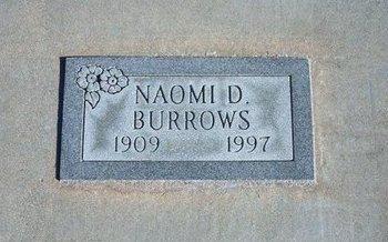 BURROWS, NAOMI R - Kearny County, Kansas | NAOMI R BURROWS - Kansas Gravestone Photos