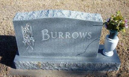 BURROWS, FAMILY STONE - Kearny County, Kansas | FAMILY STONE BURROWS - Kansas Gravestone Photos