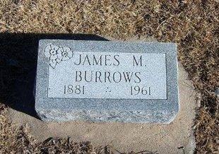 BURROWS, JAMES MEEK - Kearny County, Kansas | JAMES MEEK BURROWS - Kansas Gravestone Photos