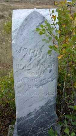 DENLINGER, JOHN R - Kearny County, Kansas | JOHN R DENLINGER - Kansas Gravestone Photos