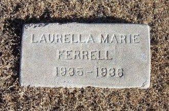 FERRELL, LAURELLA MARIE - Kearny County, Kansas | LAURELLA MARIE FERRELL - Kansas Gravestone Photos