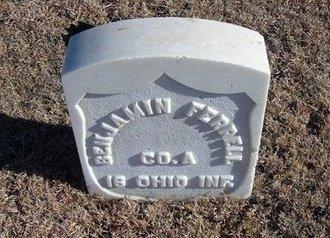 FERRELL, WILLIAM BENJAMIN (VETERAN UNION) - Kearny County, Kansas | WILLIAM BENJAMIN (VETERAN UNION) FERRELL - Kansas Gravestone Photos