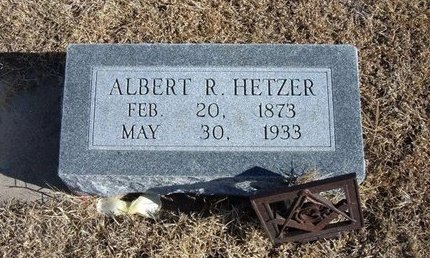 HETZER, ALBERT R - Kearny County, Kansas | ALBERT R HETZER - Kansas Gravestone Photos