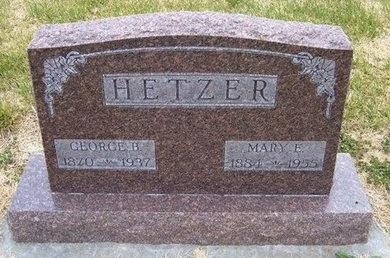 HETZER, GEORGE B - Kearny County, Kansas | GEORGE B HETZER - Kansas Gravestone Photos