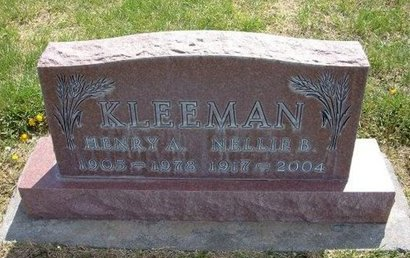 KLEEMAN, HENRY A - Kearny County, Kansas | HENRY A KLEEMAN - Kansas Gravestone Photos