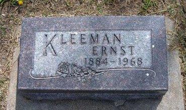 KLEEMAN, ERNST - Kearny County, Kansas | ERNST KLEEMAN - Kansas Gravestone Photos