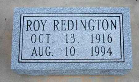 REDINGTON, ROY - Kearny County, Kansas | ROY REDINGTON - Kansas Gravestone Photos