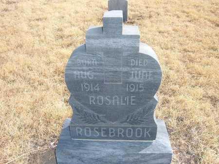 ROSEBROOK, ROSALIE ERNESTINE - Kearny County, Kansas | ROSALIE ERNESTINE ROSEBROOK - Kansas Gravestone Photos