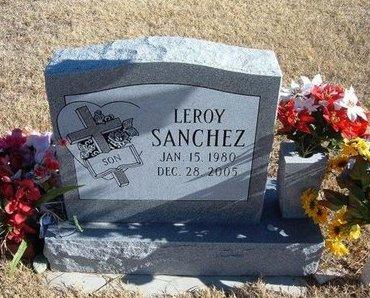 SANCHEZ, LEROY - Kearny County, Kansas | LEROY SANCHEZ - Kansas Gravestone Photos