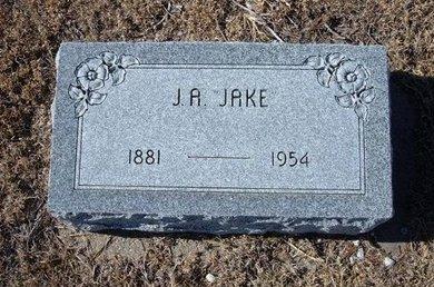 SAUER, JAKE A - Kearny County, Kansas   JAKE A SAUER - Kansas Gravestone Photos