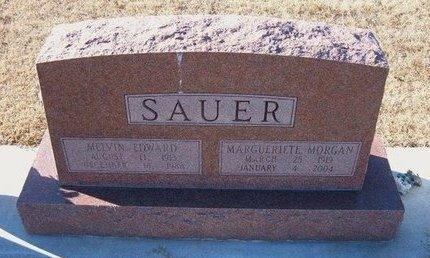 SAUER, MARGUERIETE - Kearny County, Kansas | MARGUERIETE SAUER - Kansas Gravestone Photos