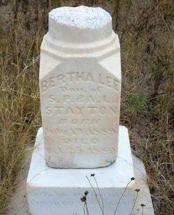 STAYTON, BERTHA LEE - Kearny County, Kansas | BERTHA LEE STAYTON - Kansas Gravestone Photos