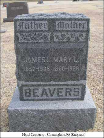 BEAVERS, MARY L - Kingman County, Kansas | MARY L BEAVERS - Kansas Gravestone Photos