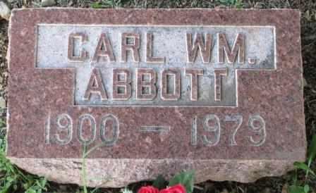 ABBOTT, CARL WILLIAM - Labette County, Kansas   CARL WILLIAM ABBOTT - Kansas Gravestone Photos
