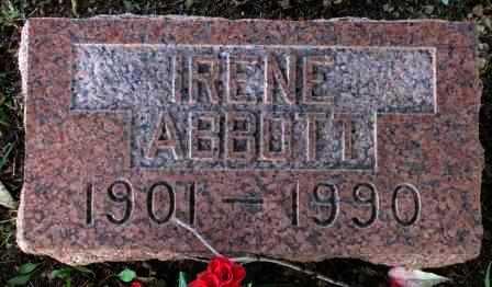 ABBOTT, IRENE LOIS - Labette County, Kansas | IRENE LOIS ABBOTT - Kansas Gravestone Photos