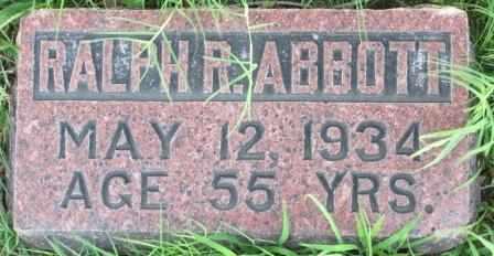 ABBOTT, RALPH RAYMOND - Labette County, Kansas   RALPH RAYMOND ABBOTT - Kansas Gravestone Photos