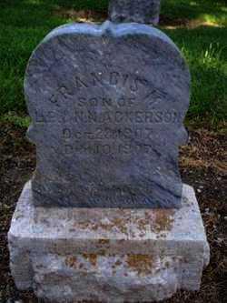 ACKERSON, FRANCIS M - Labette County, Kansas   FRANCIS M ACKERSON - Kansas Gravestone Photos