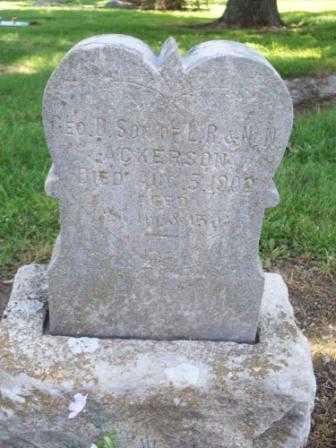 ACKERSON, GEORGE D - Labette County, Kansas   GEORGE D ACKERSON - Kansas Gravestone Photos