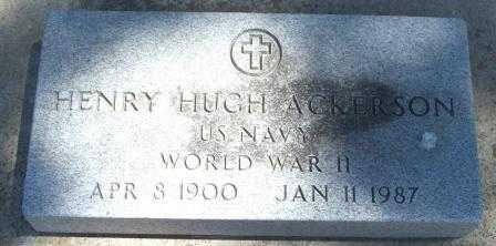 ACKERSON, HENRY HUGH  (VETERAN WWII) - Labette County, Kansas | HENRY HUGH  (VETERAN WWII) ACKERSON - Kansas Gravestone Photos