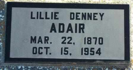 ADAIR, LILLIE LEVINA - Labette County, Kansas | LILLIE LEVINA ADAIR - Kansas Gravestone Photos