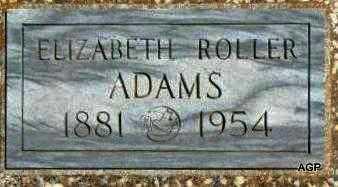 ADAMS, ELIZABETH - Labette County, Kansas | ELIZABETH ADAMS - Kansas Gravestone Photos