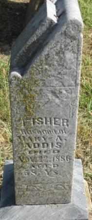 ADDIS, FISHER - Labette County, Kansas | FISHER ADDIS - Kansas Gravestone Photos