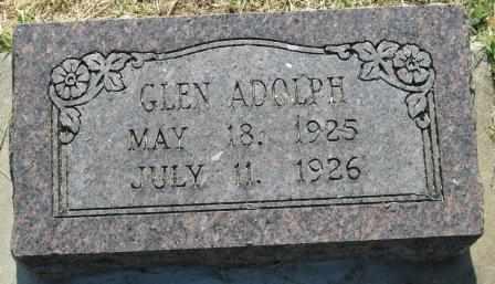 ADOLPH, GLEN - Labette County, Kansas   GLEN ADOLPH - Kansas Gravestone Photos