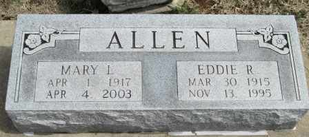 ALLEN, MARY L - Labette County, Kansas | MARY L ALLEN - Kansas Gravestone Photos