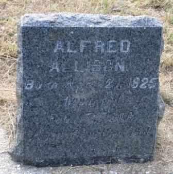 ALLISON, ALFRED JOSEPH - Labette County, Kansas   ALFRED JOSEPH ALLISON - Kansas Gravestone Photos