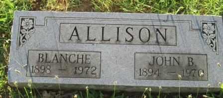 ALLISON, JOHN B - Labette County, Kansas | JOHN B ALLISON - Kansas Gravestone Photos